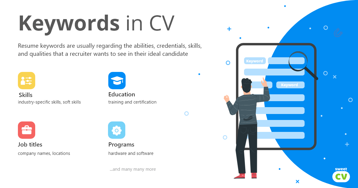 Keywords in CV
