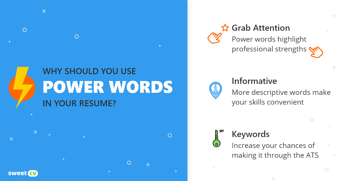 Why should you use power words in your resume